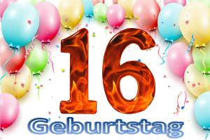 Geburtstag 16.