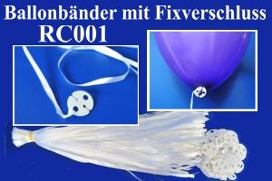 Ballonbänder mit Patentverschlüssen RC001