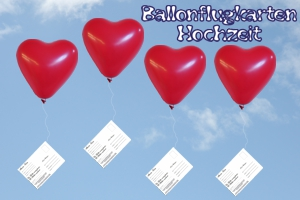 ballonflugkarten hochzeit luftballons mit postkarten zur hochzeitsfeier steigen lassen. Black Bedroom Furniture Sets. Home Design Ideas