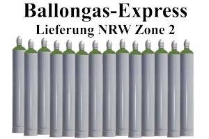 Zone 2 Ballongas Versand NRW