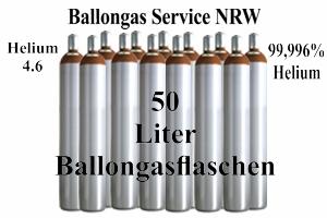 50 Liter Behälter Ballongas