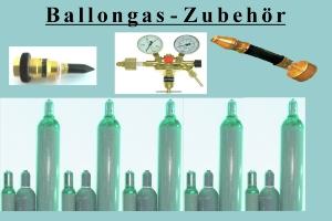 Zubehör zur Befüllung von Luftballons mit Helium