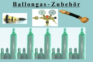 Ballongas Zubehör