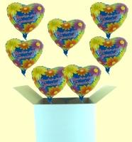 Ballongrüße / Verschiedene Anlässe (Mittlerer Karton)