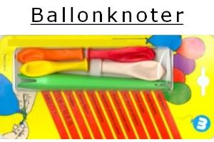 Luftballonknoter - praktische Hilfe zum Verknoten von Ballons