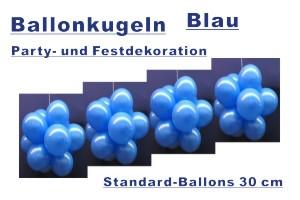 Ballonkugeln Standard Blau