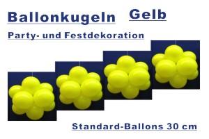 Ballonkugeln Standard Gelb