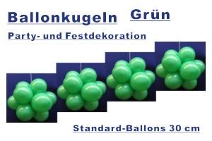Ballonkugeln Standard Grün