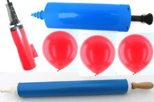 Ballonpumpen, Luftballonpumpen, manuell