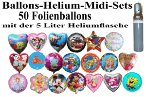 Folienballon - Midi - Sets