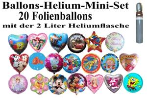 Folienballonset 20er