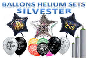 Ballons Helium Sets Silvester