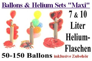 "Ballons & Helium Sets ""Maxi"""