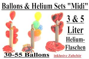 "Ballons & Helium Sets ""Midi"""