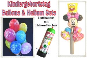 "Ballons & Helium Sets ""Kindergeburtstag"""