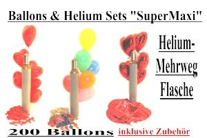 """Ballons & Helium Sets """"Super Maxi"""""""
