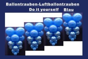 Ballontrauben Standard Blau