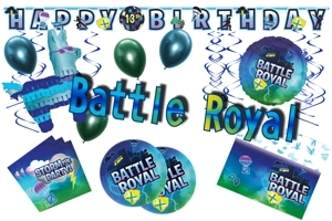 Battle Royal Gaming Party