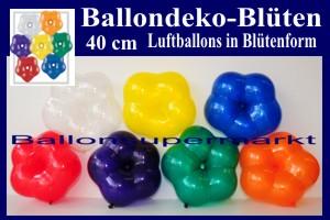Blüten-Luftballons, 40 cm