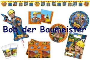 Kindergeburtstag mit Bob the Builder