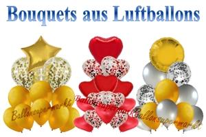 Bouquets aus Luftballons zur Hochzeit