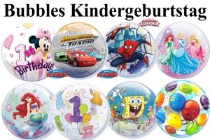 Bubbles Luftballons Kindergeburtstag