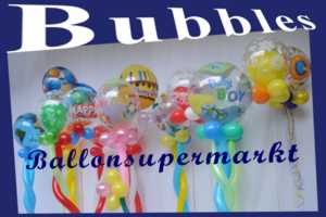 Bubbles, Luftballons aus PVC