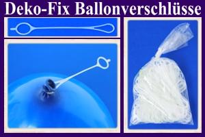 Ballonverschlüsse, Deko-Fix für Luftballons aus Latex