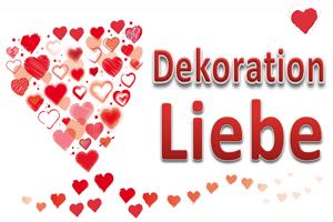 Dekoration Hochzeit, Herz, Liebe