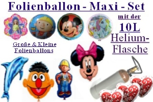 Folienballon - Maxi - Set