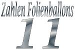 Folienballons Zahl 11