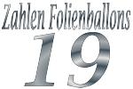 Folienballons Zahl 19