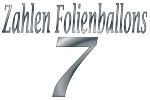 Folienballons Zahl 7