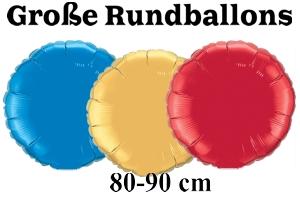 Folienballons Rund 80-90 cm