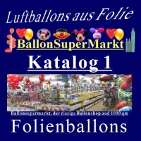 Folienballons Shapes Katalog 1
