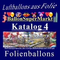 Folienballons Shapes Katalog 4