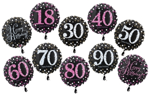 Folienballons Celebration