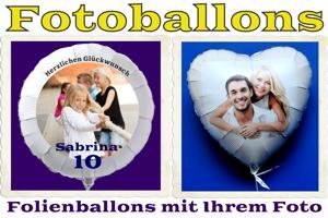 Fotoballons Hochzeit