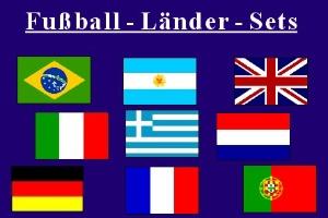 Fußball - Länder - Sets
