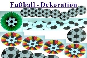 Fußballdekoration