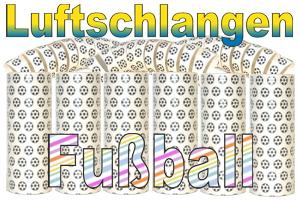 Fussball-Luftschlangen-Jumbo