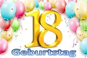 Geburtstag 18.
