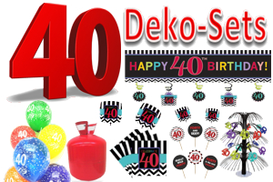 ballonsupermarkt geburtstag 40 geburtstagsdeko sets geburtstag 40 besondere. Black Bedroom Furniture Sets. Home Design Ideas