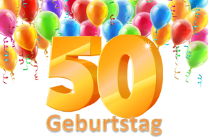 Geburtstag 50.