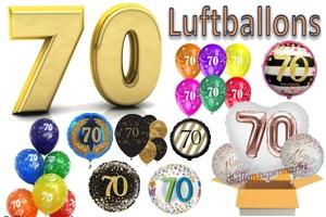 70. Geburtstag Luftballons