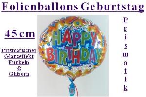 "Geburtstag ""Prismatik"" (ohne Helium)"