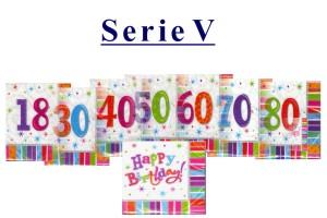 Geburtstag Servietten Serie 5