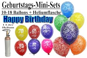 Geburtstags Mini-Sets
