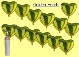 Golden Hearts Sets