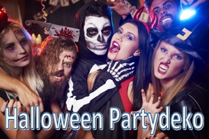 Halloween, Partydekoration